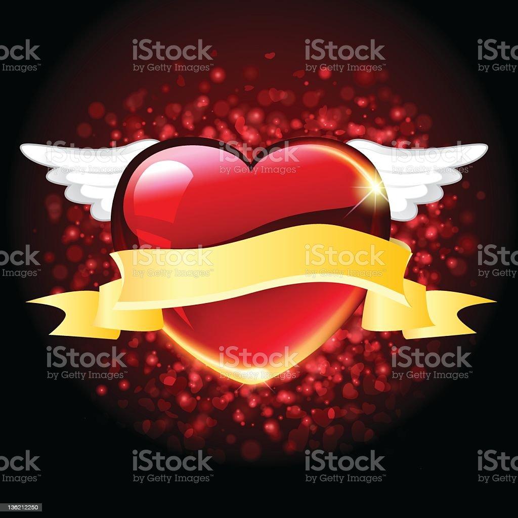 Fond de la Saint-Valentin stock vecteur libres de droits libre de droits