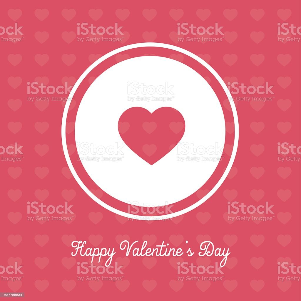 Valentines Day banner, cute and catchy vector background royalty-free stock vector art