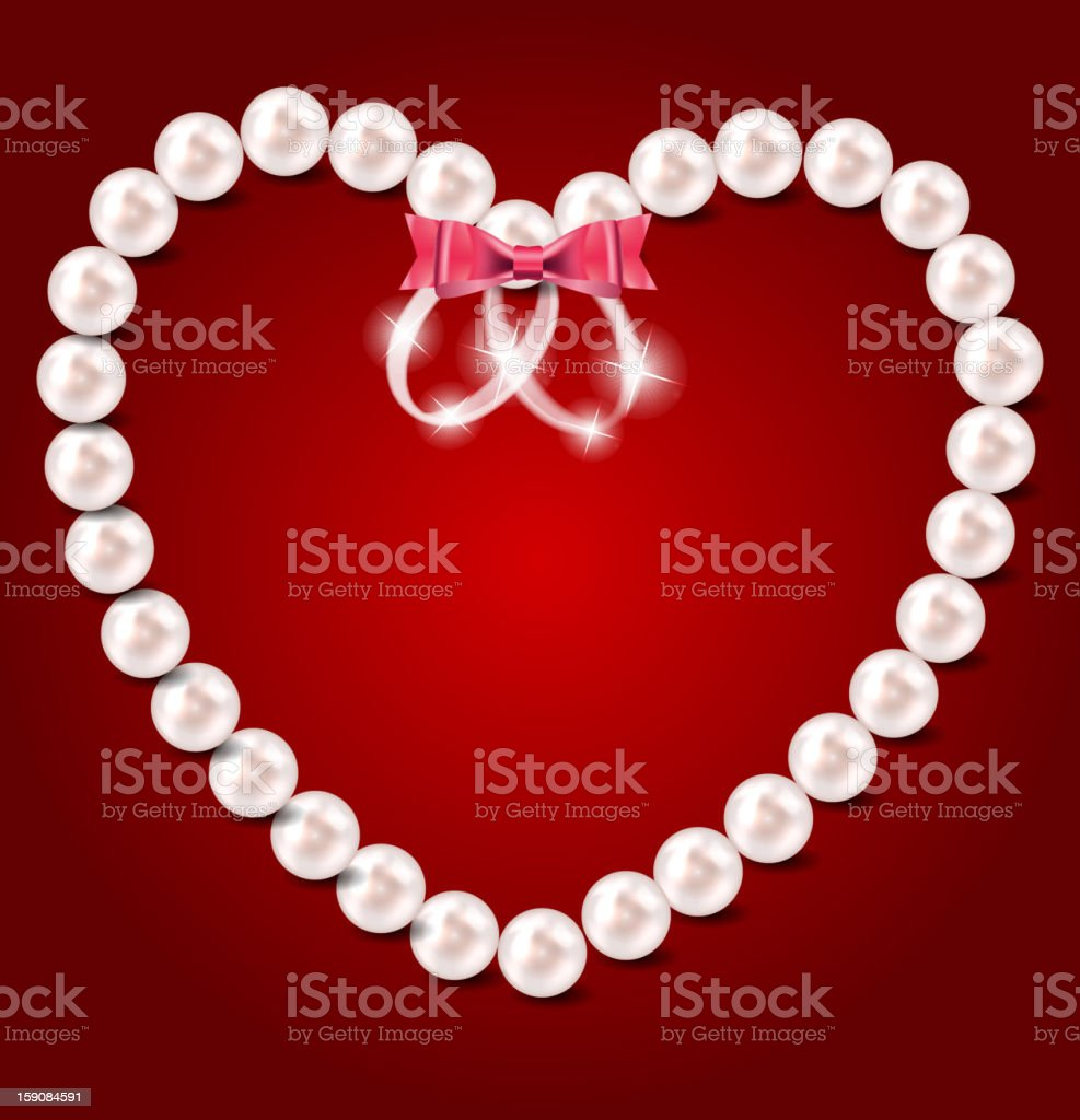 Valentine`s Day card, vector illustration royalty-free stock vector art