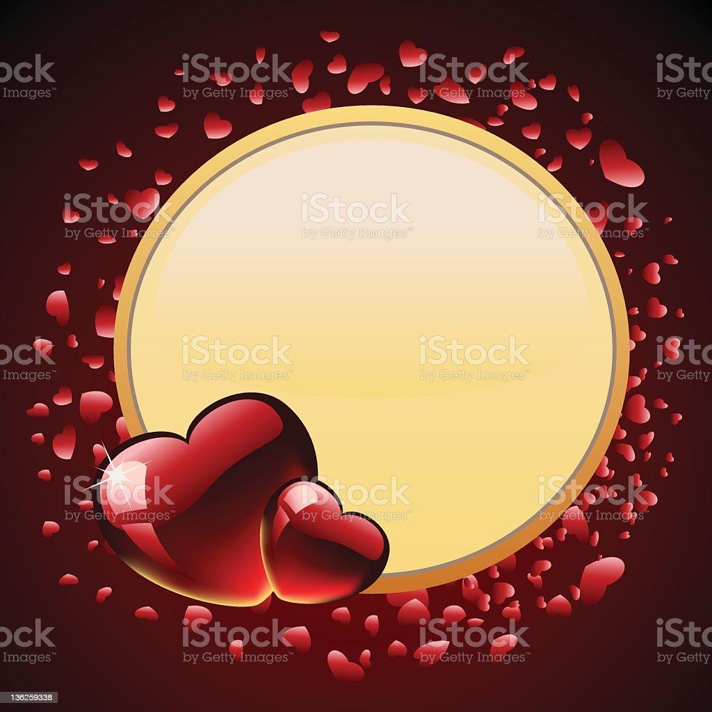 De la Saint-Valentin stock vecteur libres de droits libre de droits