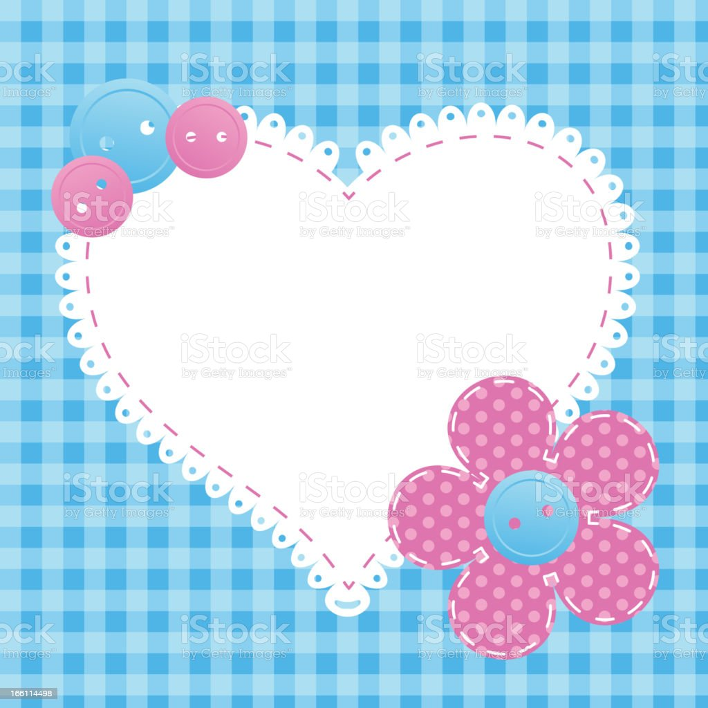 valentine's day greeting card royalty-free stock vector art