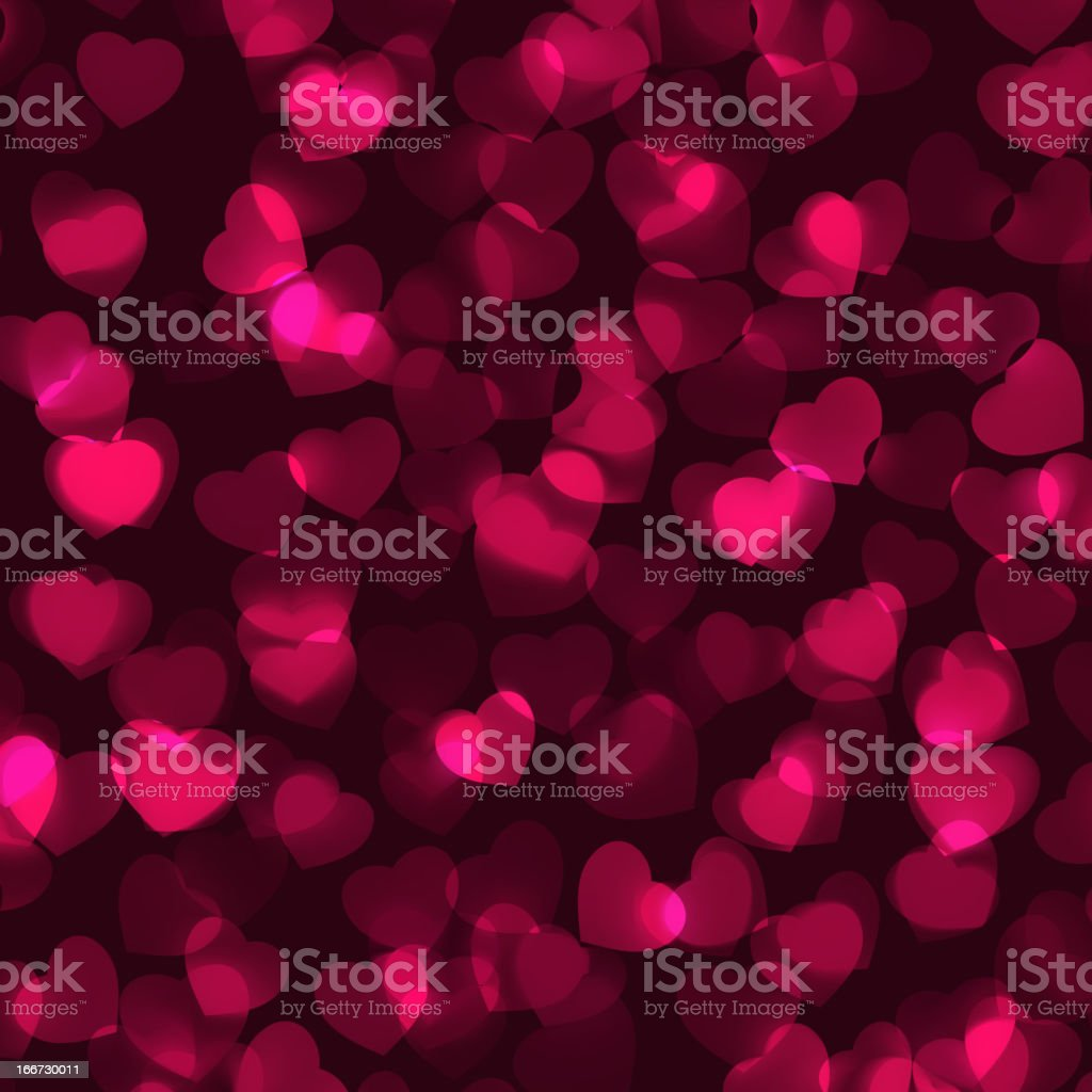 Valentine's Day romantic background. EPS 8 royalty-free stock vector art