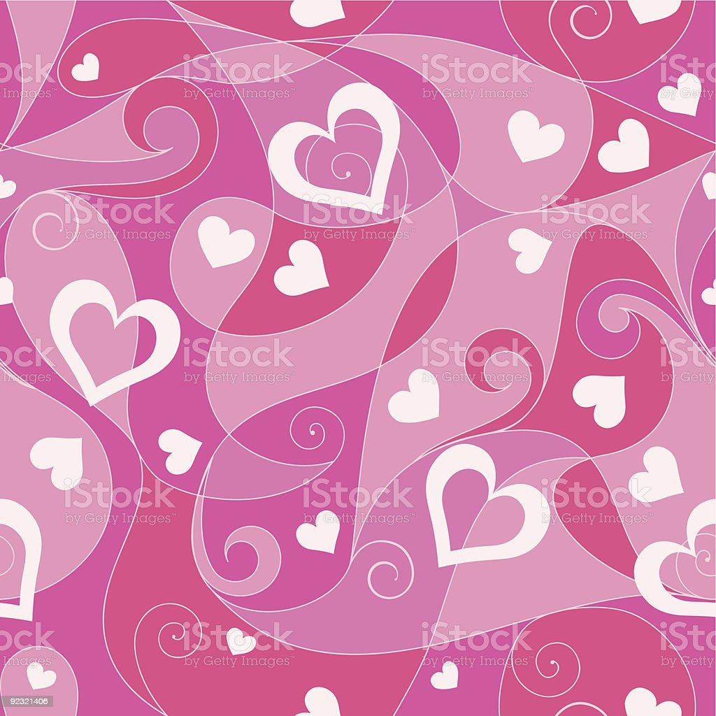 Valentine's day seamless pattern royalty-free stock vector art