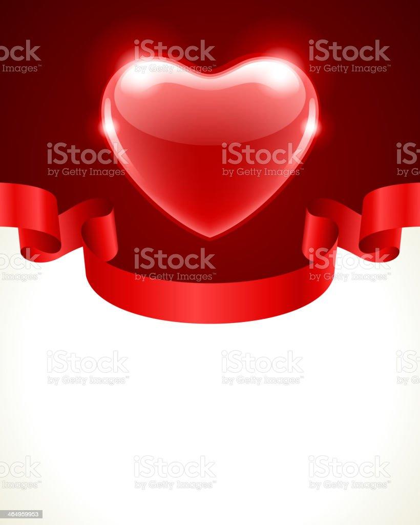 Valentine's day vector background vector art illustration