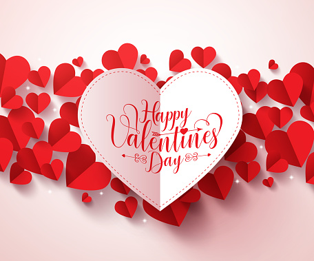 Happiness clip art vector images illustrations istock for Designs for valentine cards