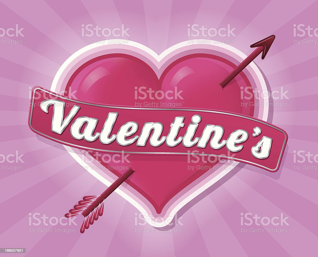 Valentine's Heart royalty-free stock vector art