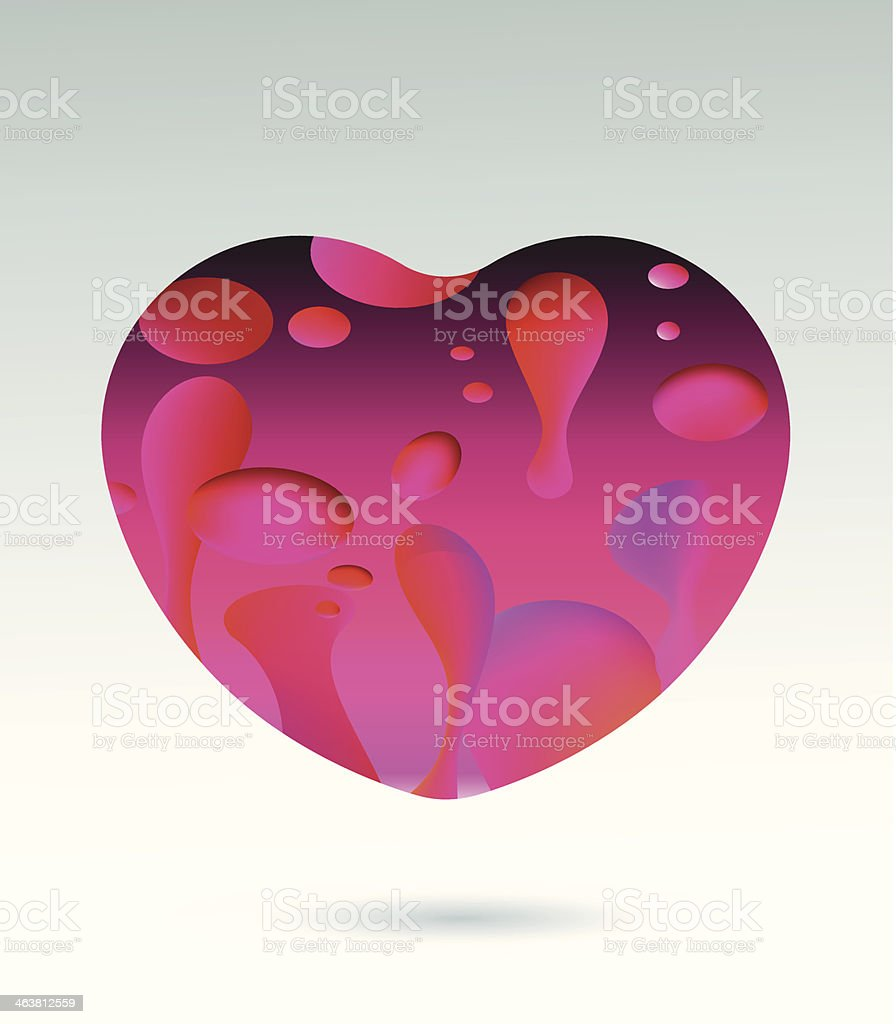 valentines heart royalty-free stock vector art