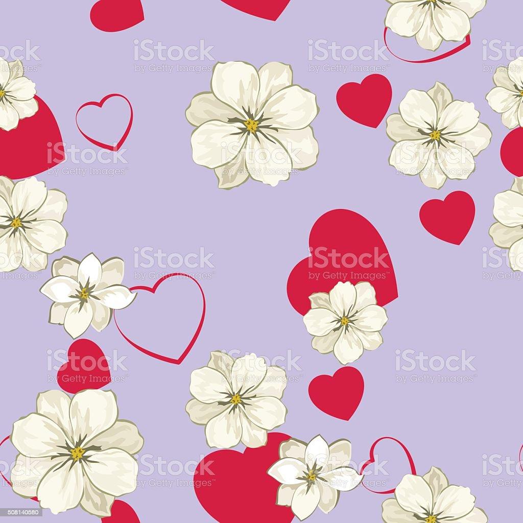 valentin's pattern vector art illustration