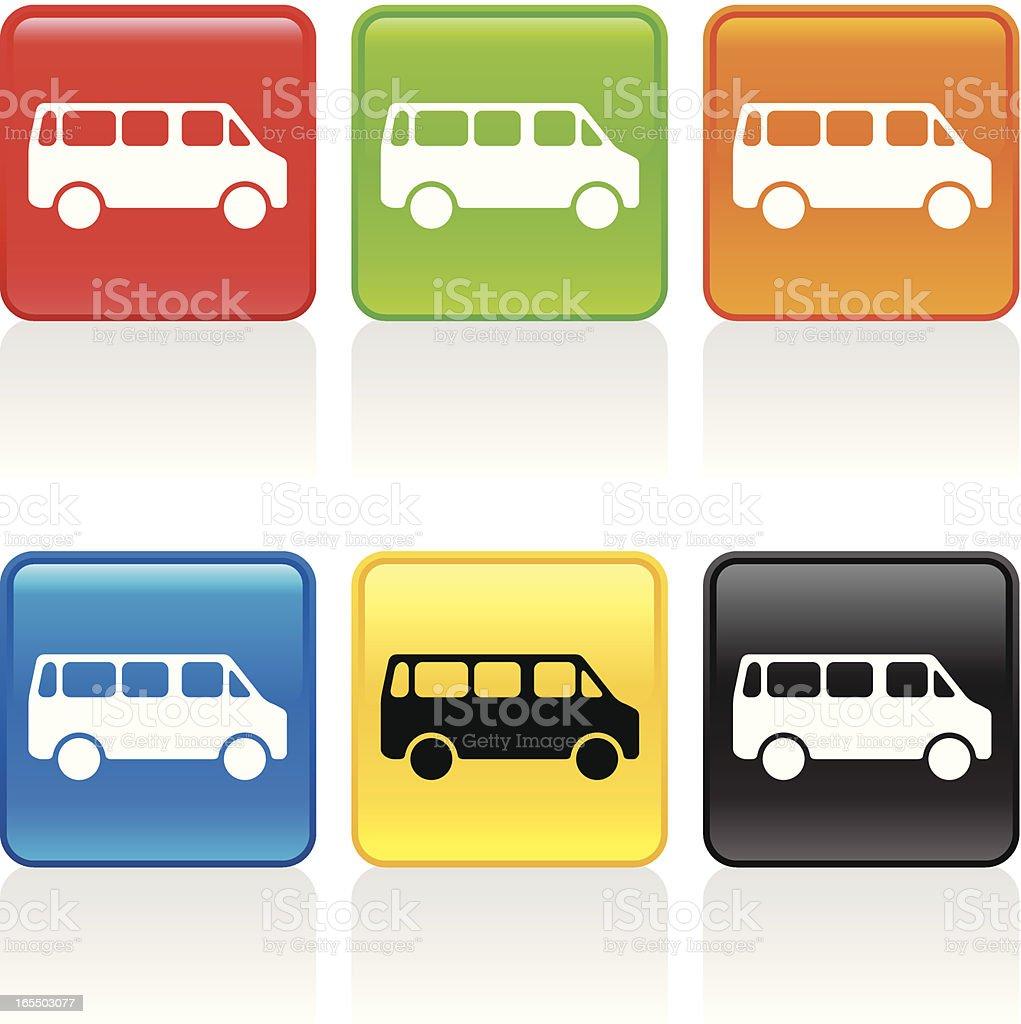 Van Icon royalty-free stock vector art