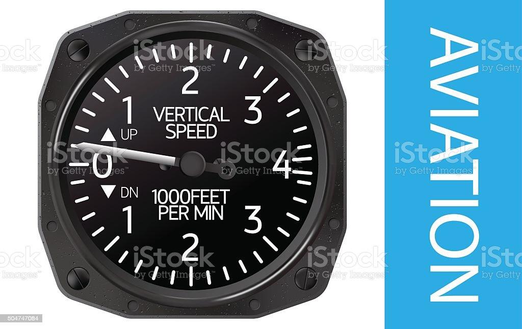 Variometer vector illustration vector art illustration