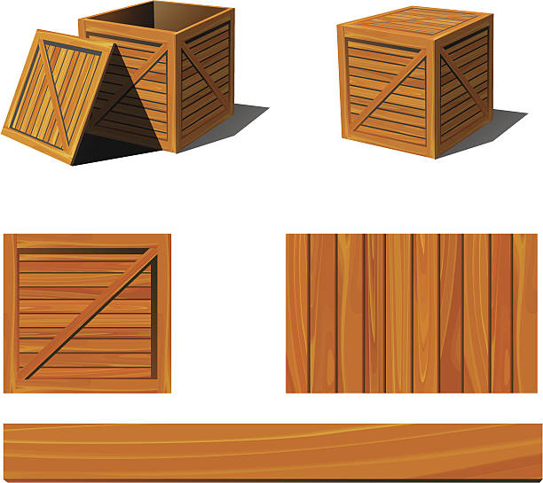 Crate Clip Art, Vector Images & Illustrations - iStock