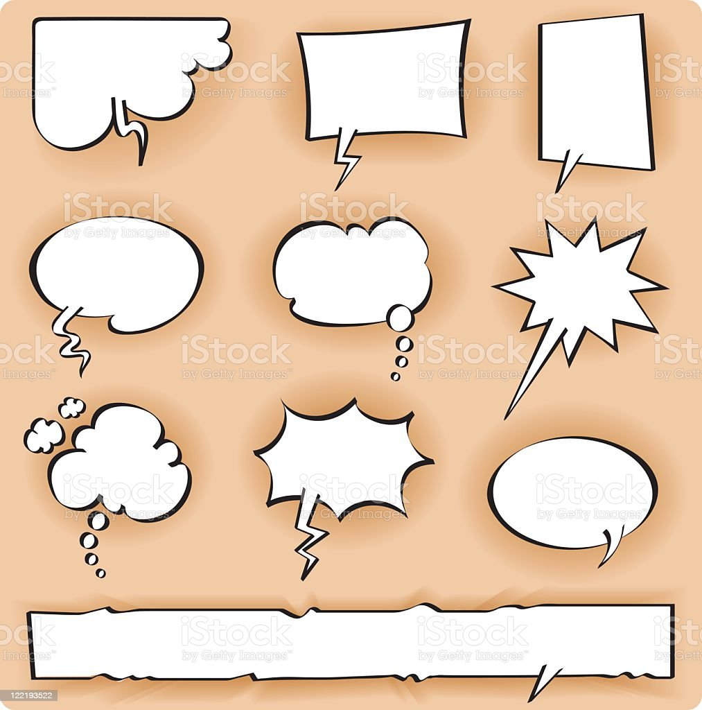 various bubbles royalty-free stock vector art