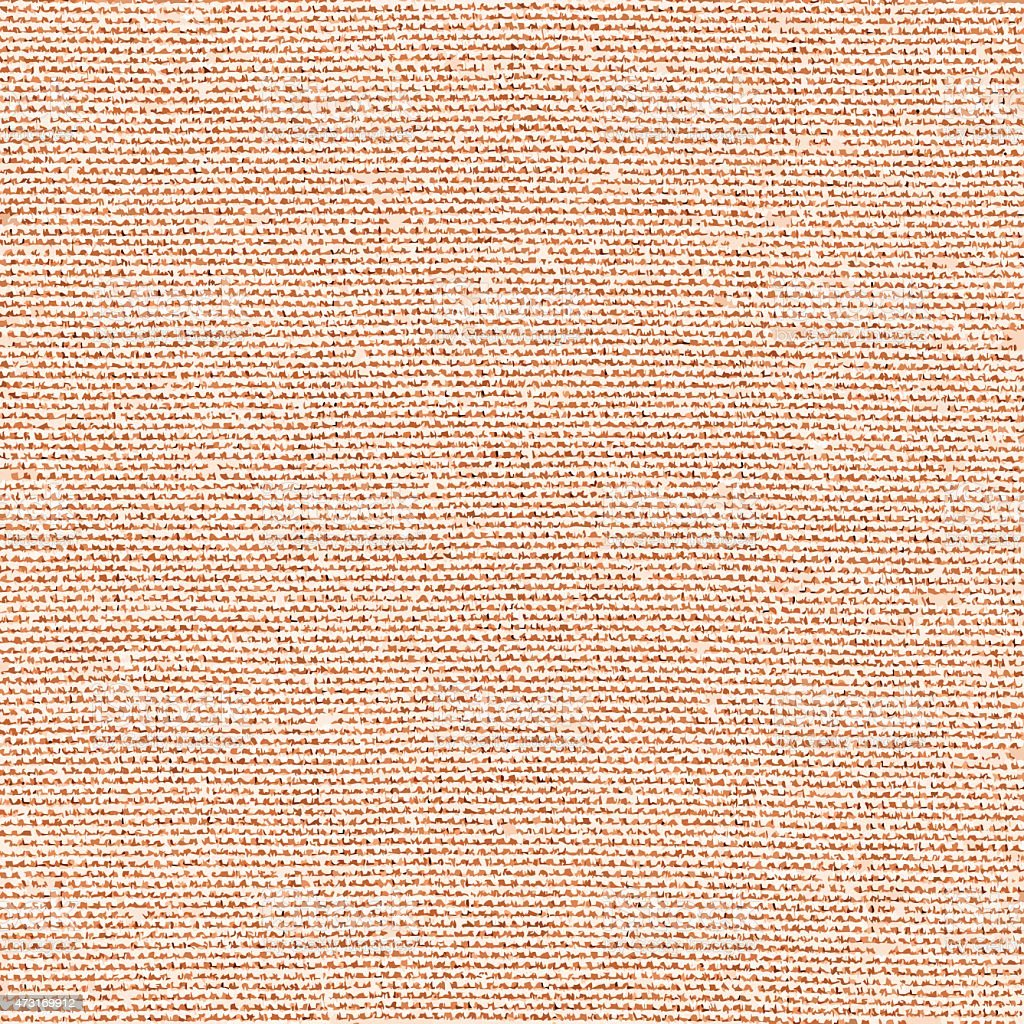 Vecto brown fabric texture vector art illustration