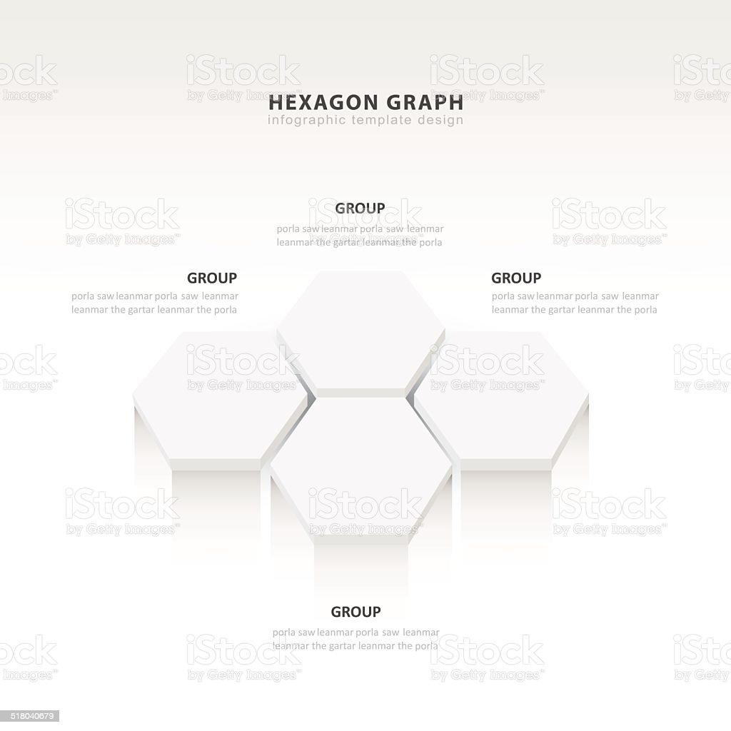 Artisinal Graph Paper Blue Hexagon. Beehive Hexagon Technology Abstract  Clip Art Vector Images