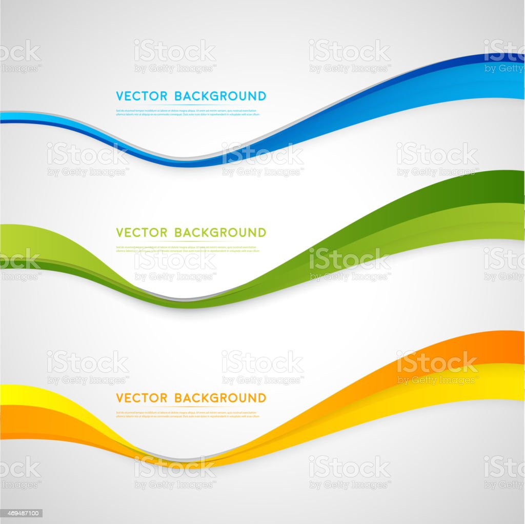 Vector abstract background design vector art illustration