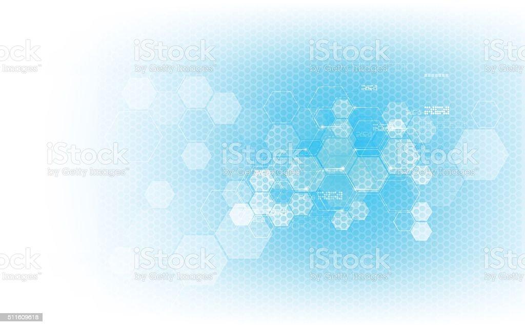 vector abstract background hi tech innovation concept design vector art illustration