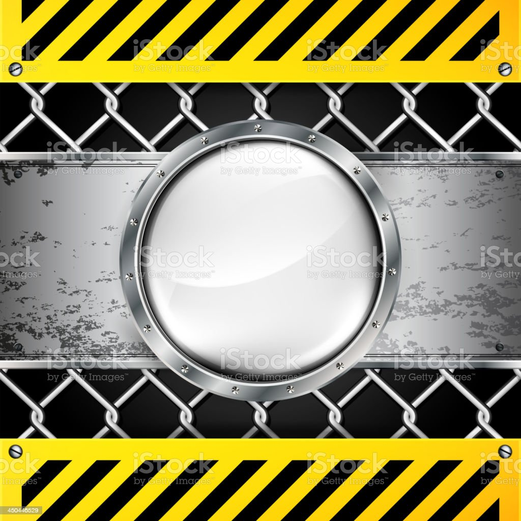 Vector abstract background with techno elements. royalty-free stock vector art