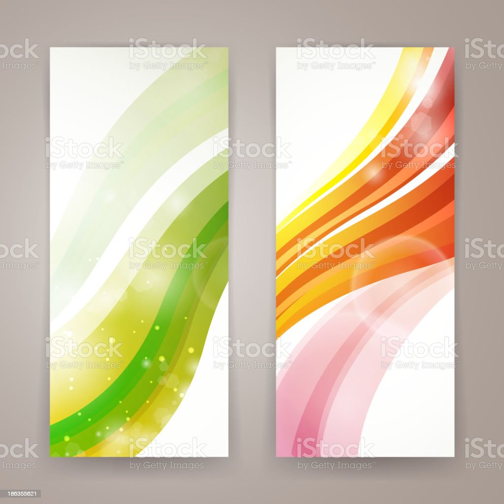 Vector Abstract Banners royalty-free stock vector art