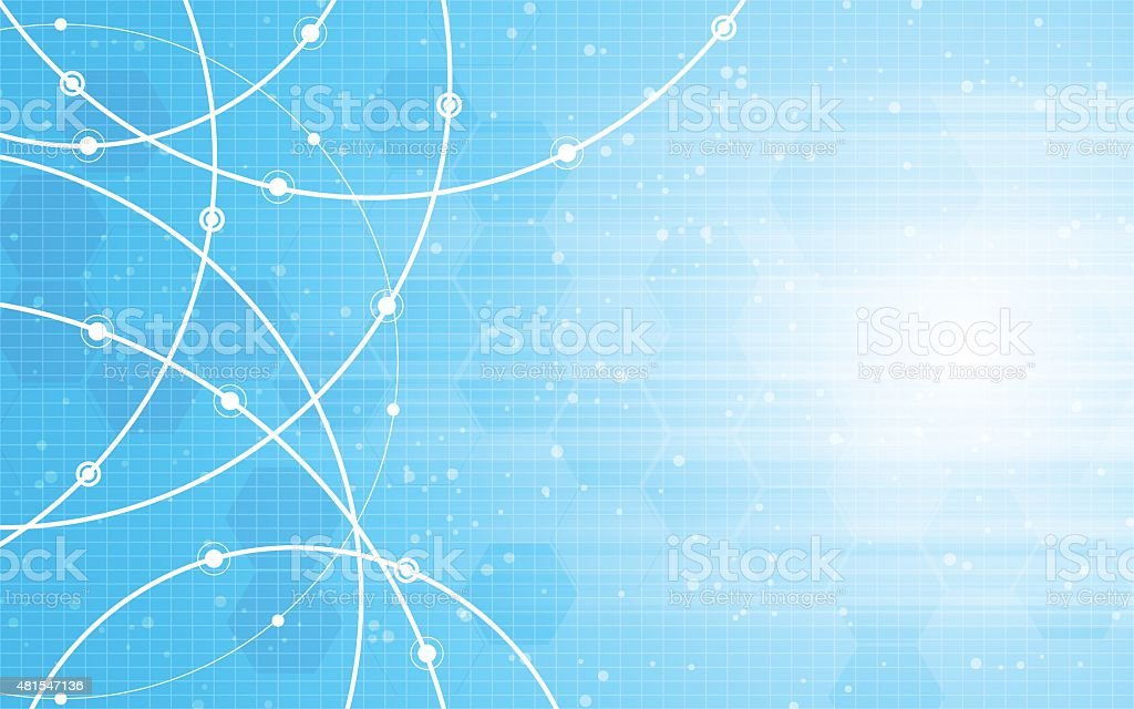 vector abstract blue background vector art illustration