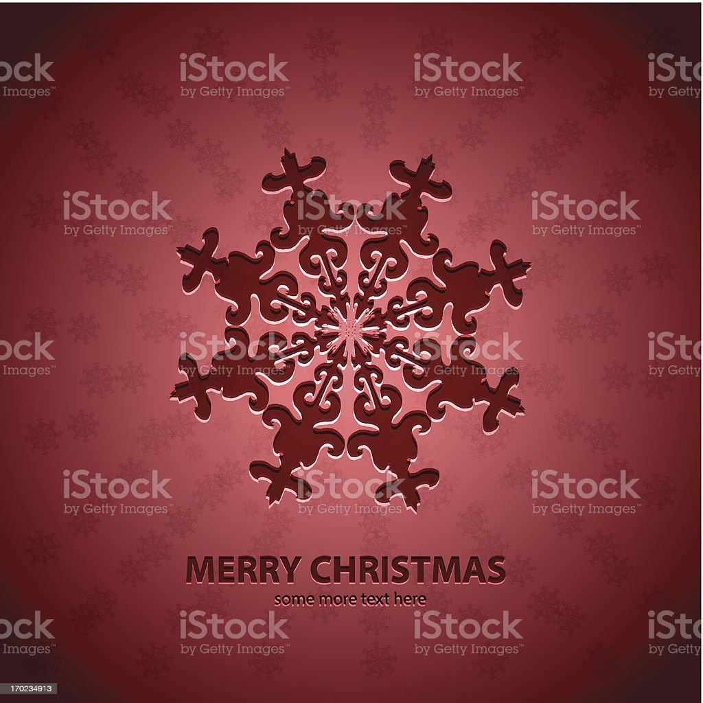 Vector abstract Christmas background royalty-free stock vector art