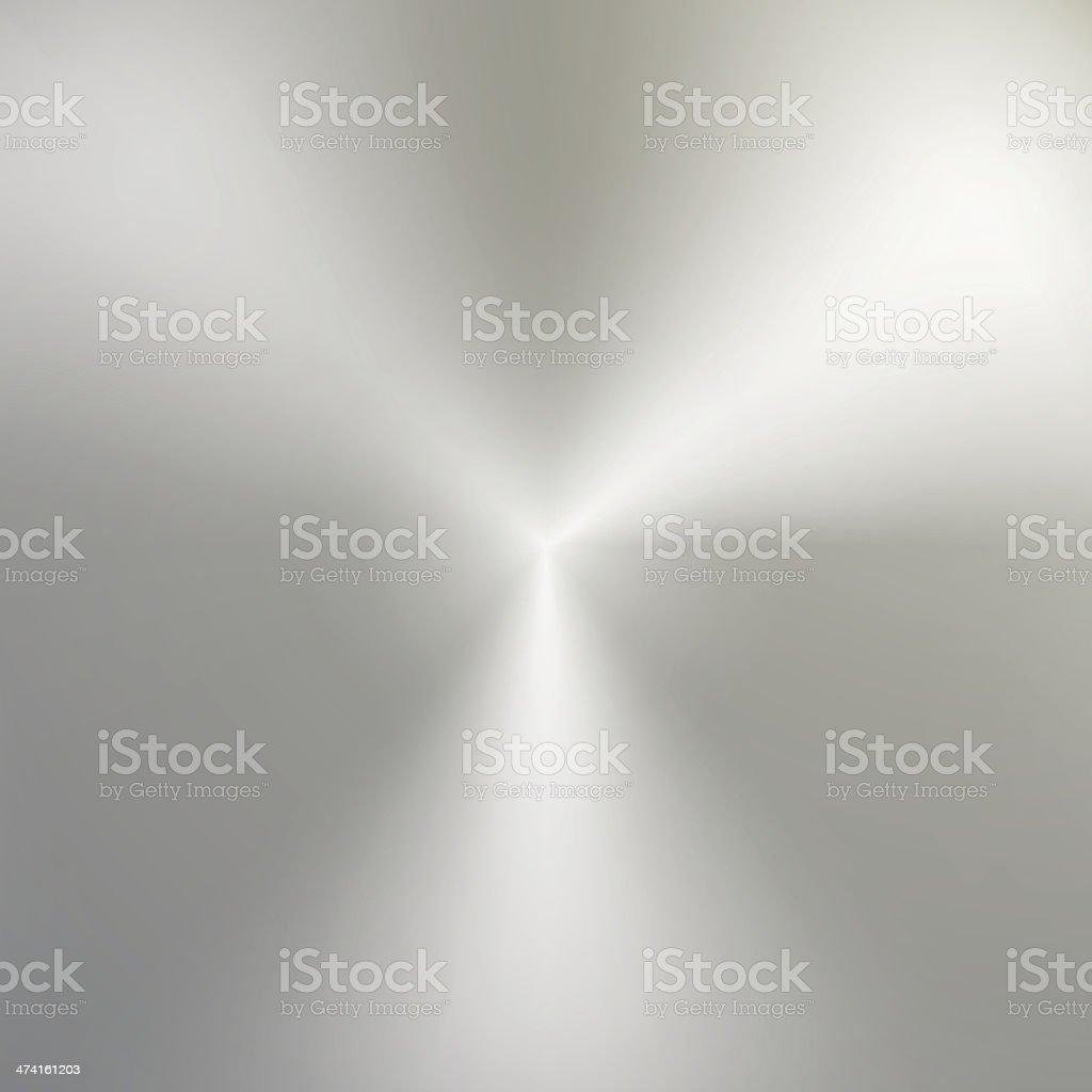 Vector abstract circular silver metallic texture vector art illustration