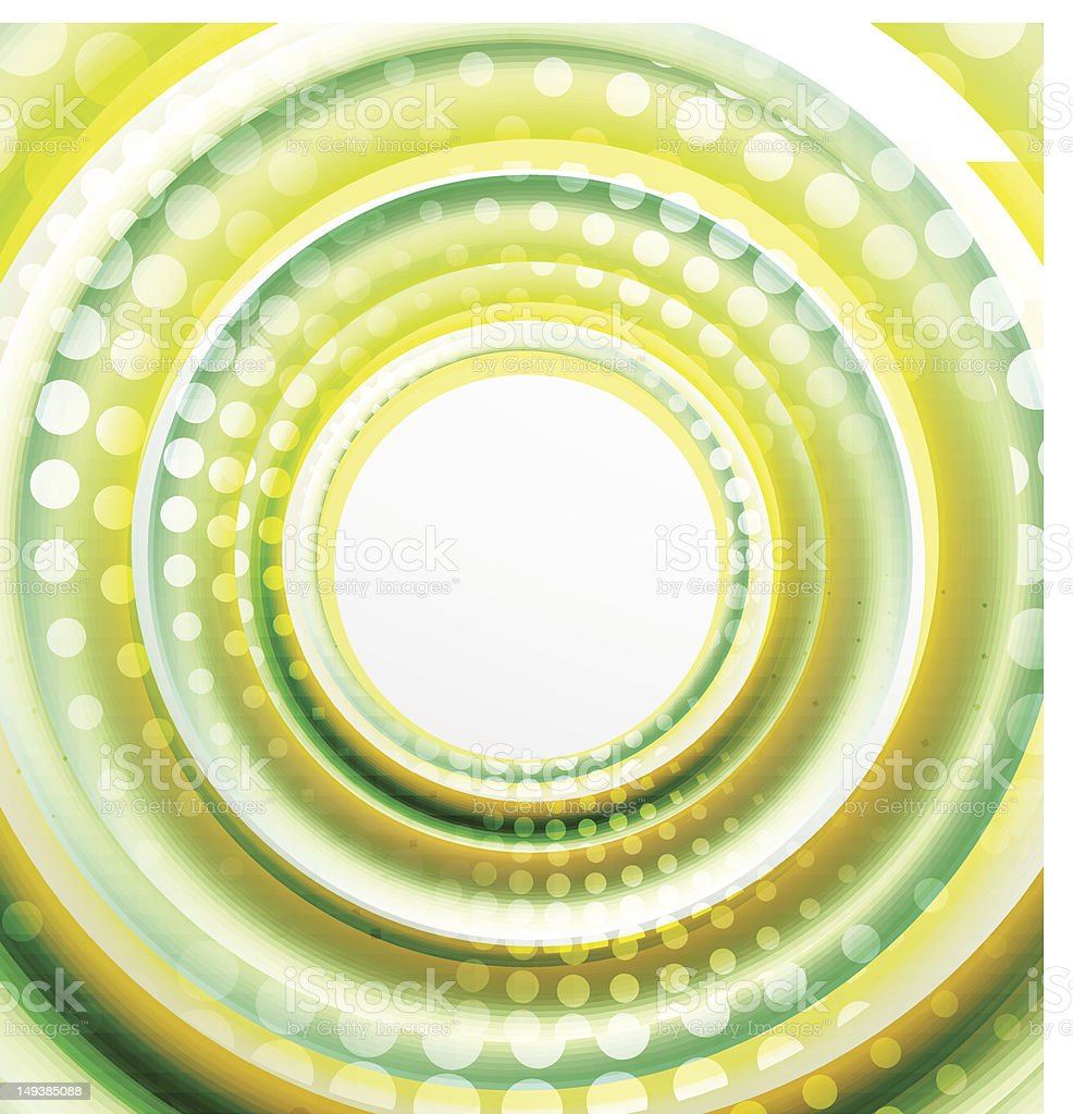 Vector abstract color swirl background royalty-free stock vector art