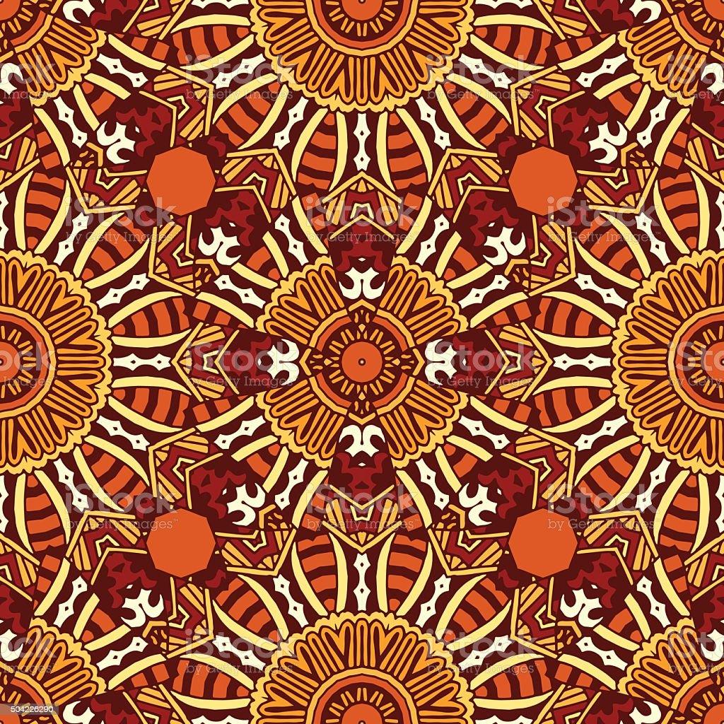 Vector abstract  geometric seamless pattern vector art illustration