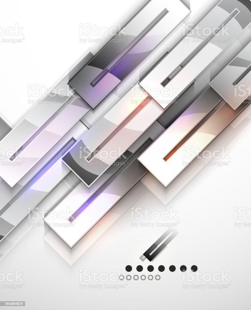 Vector abstract glass background royalty-free stock vector art