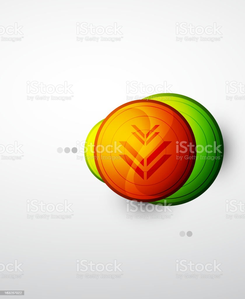 Vector abstract glossy background royalty-free stock vector art