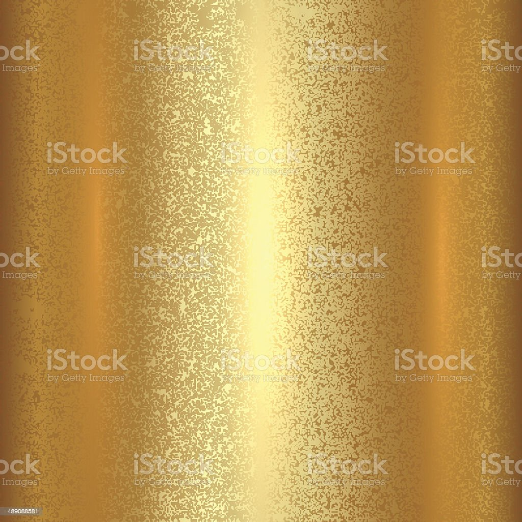 Vector abstract gold texture square background vector art illustration