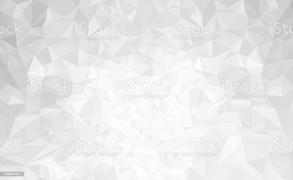Vector abstract gray, triangles background. vector art illustration