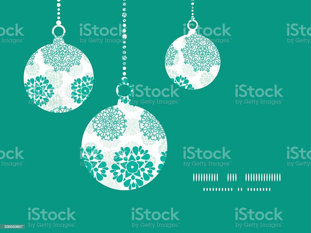 Vector Abstract Green Decorative Circles Stars Striped Christmas Ornaments  Silhouettes Royaltyfree Stock Vector Art