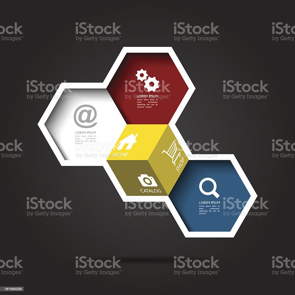 Vector abstract infographics royalty-free stock vector art