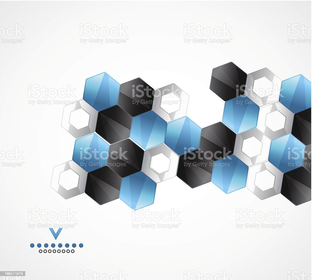 Vector abstract mosaic background royalty-free stock vector art