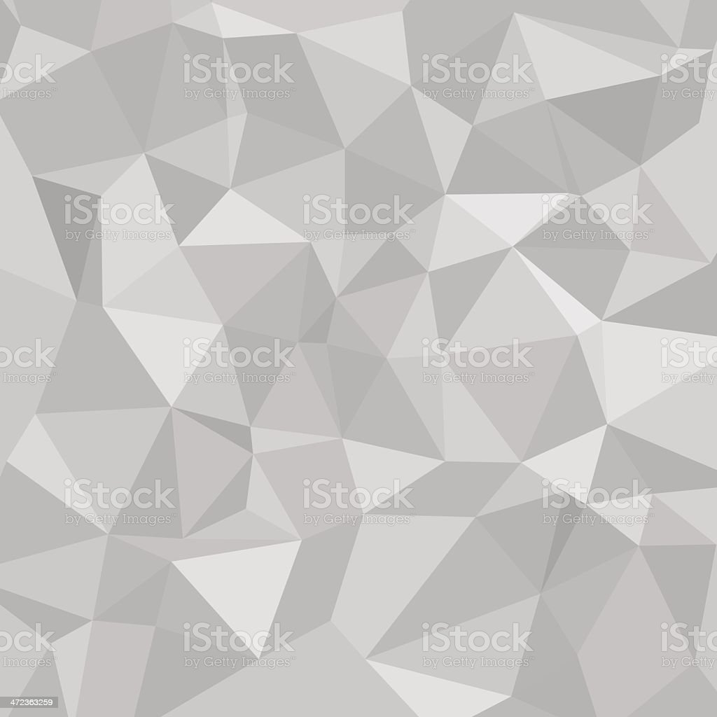 vector abstract polygonal background. vector art illustration