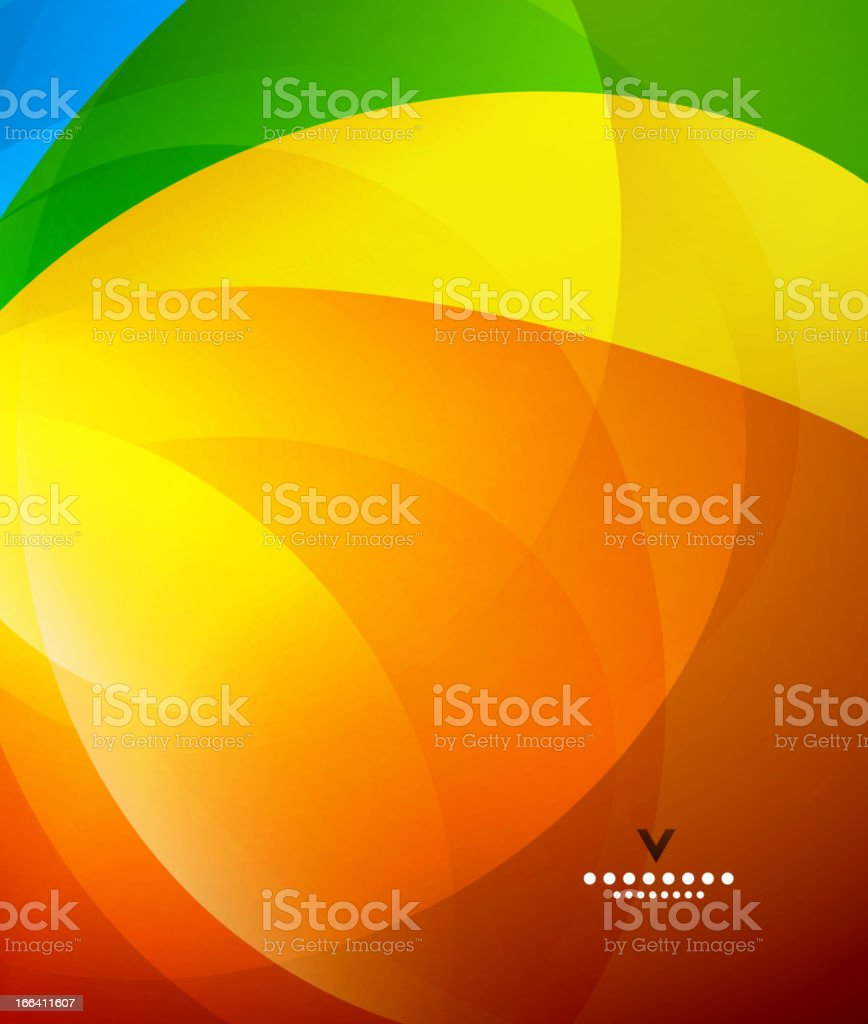 Vector abstract rainbow background royalty-free stock vector art