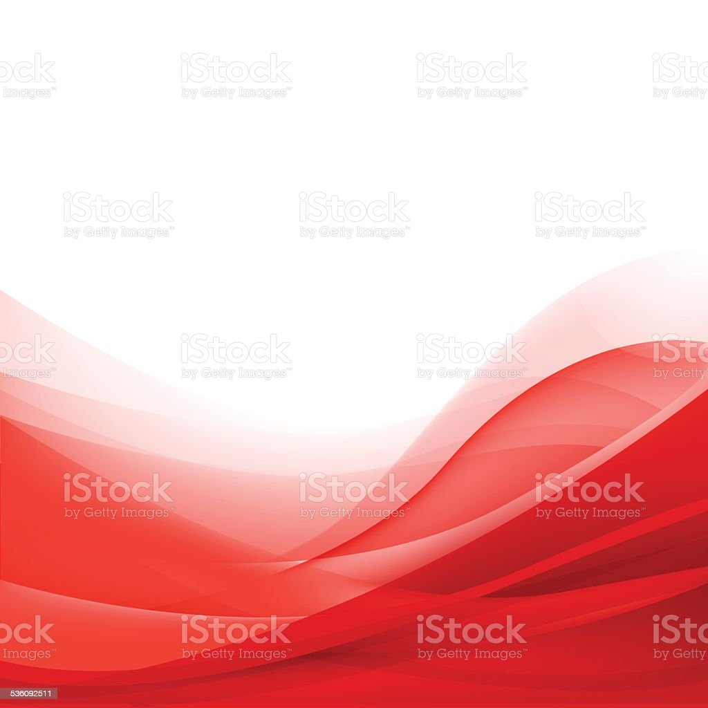 vector abstract red wavy background, wallpaper vector art illustration