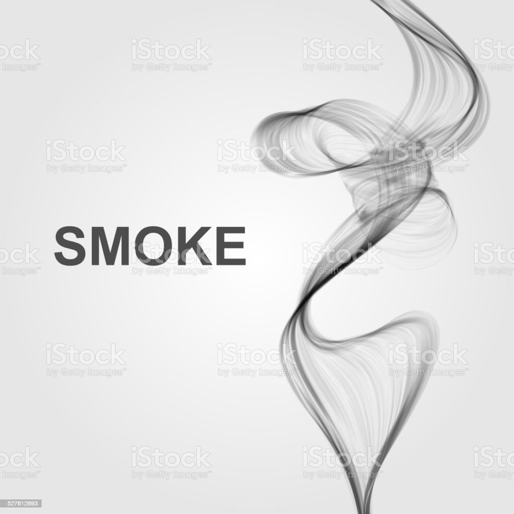 Vector abstract smoke background vector art illustration