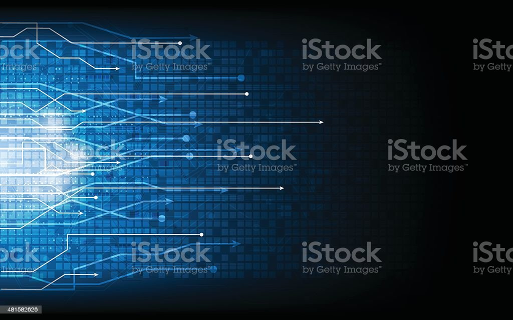 vector abstract technology telecoms innovation background vector art illustration