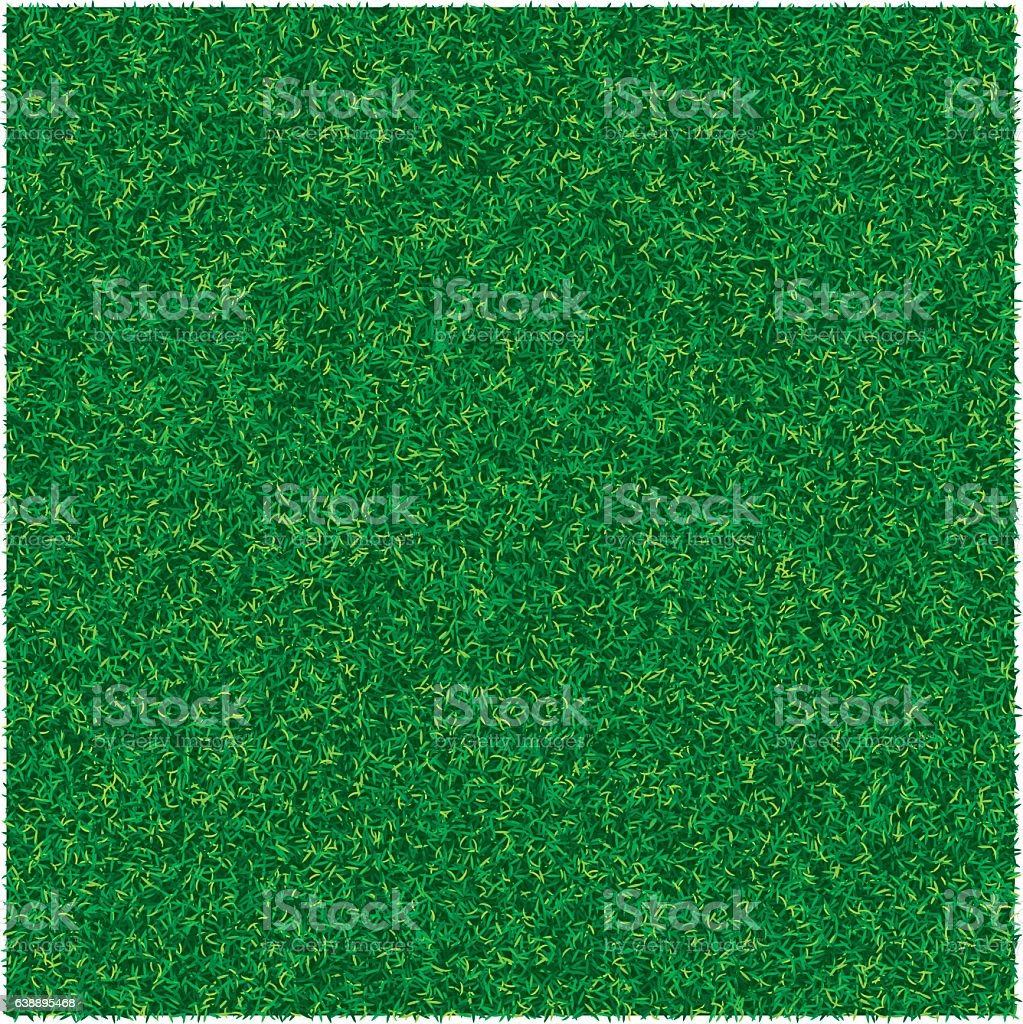 Vector abstract texture with green lawn grass for design background vector art illustration