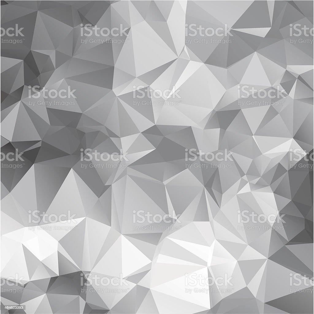 vector abstract triangular mosaic pattern vector art illustration