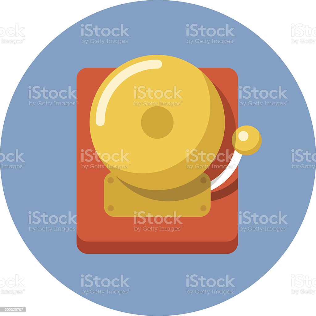 Vector Alarm Bell vector art illustration