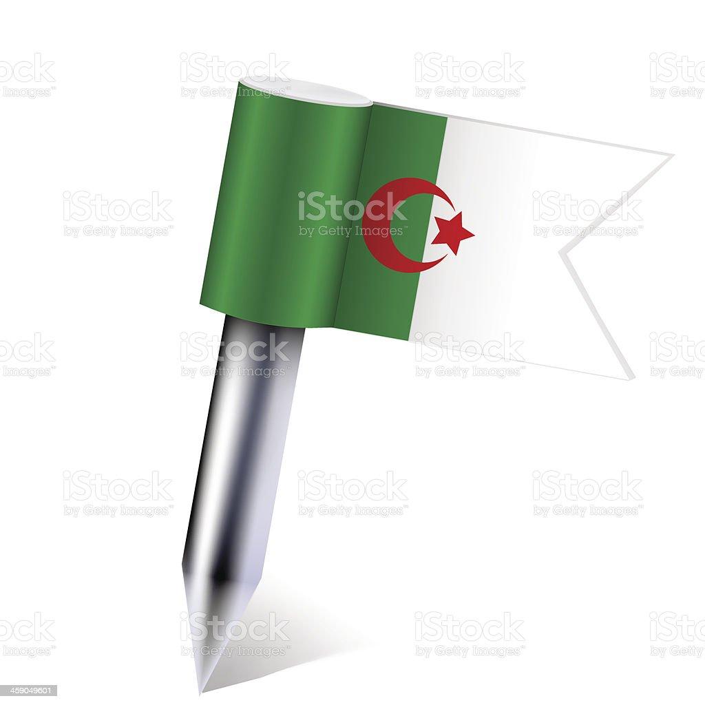 Vector Algeria flag vector art illustration