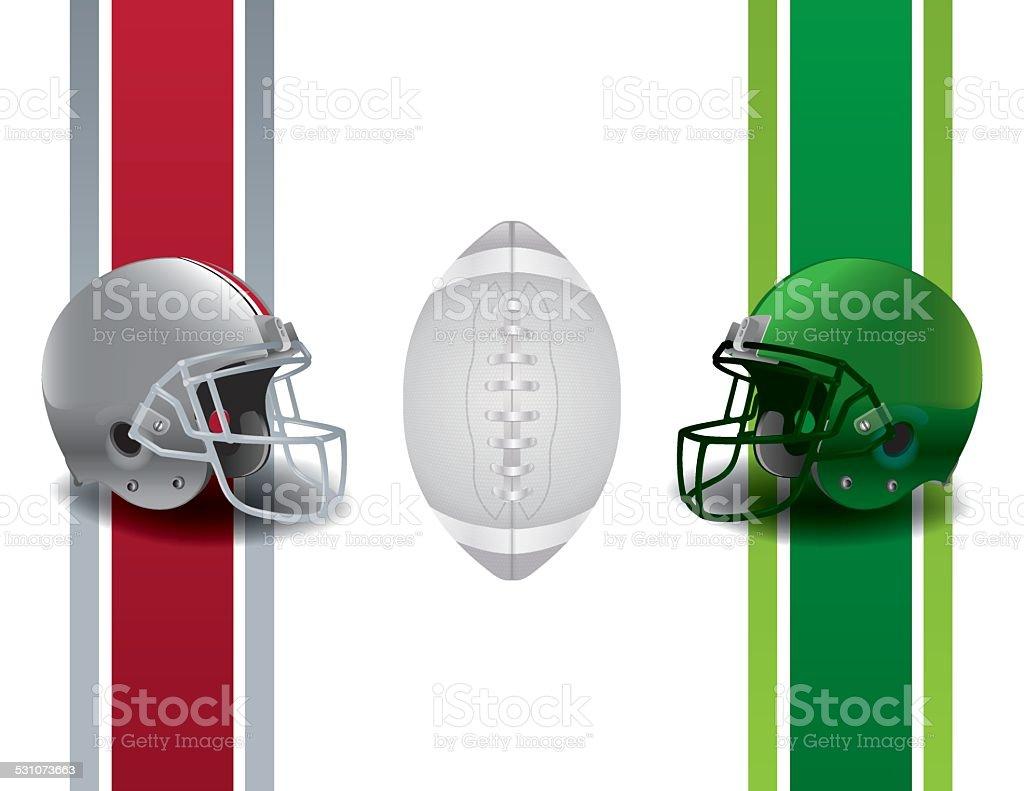 Vector American Football Championship Background vector art illustration