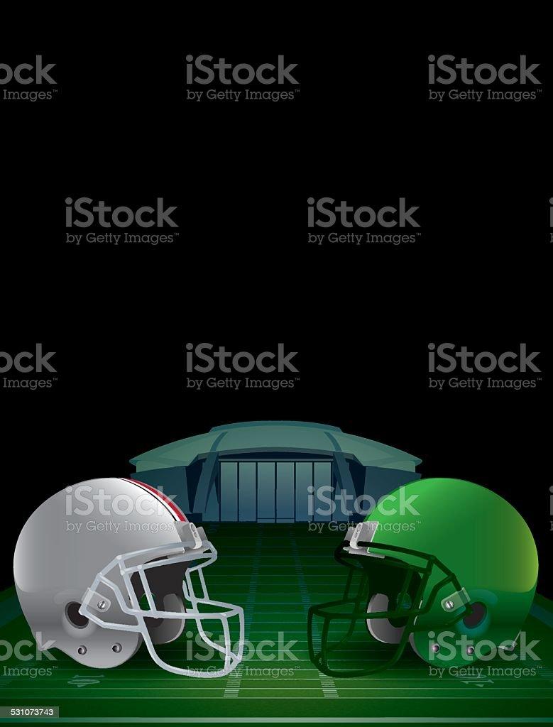 Vector American Football Championship Illustration vector art illustration
