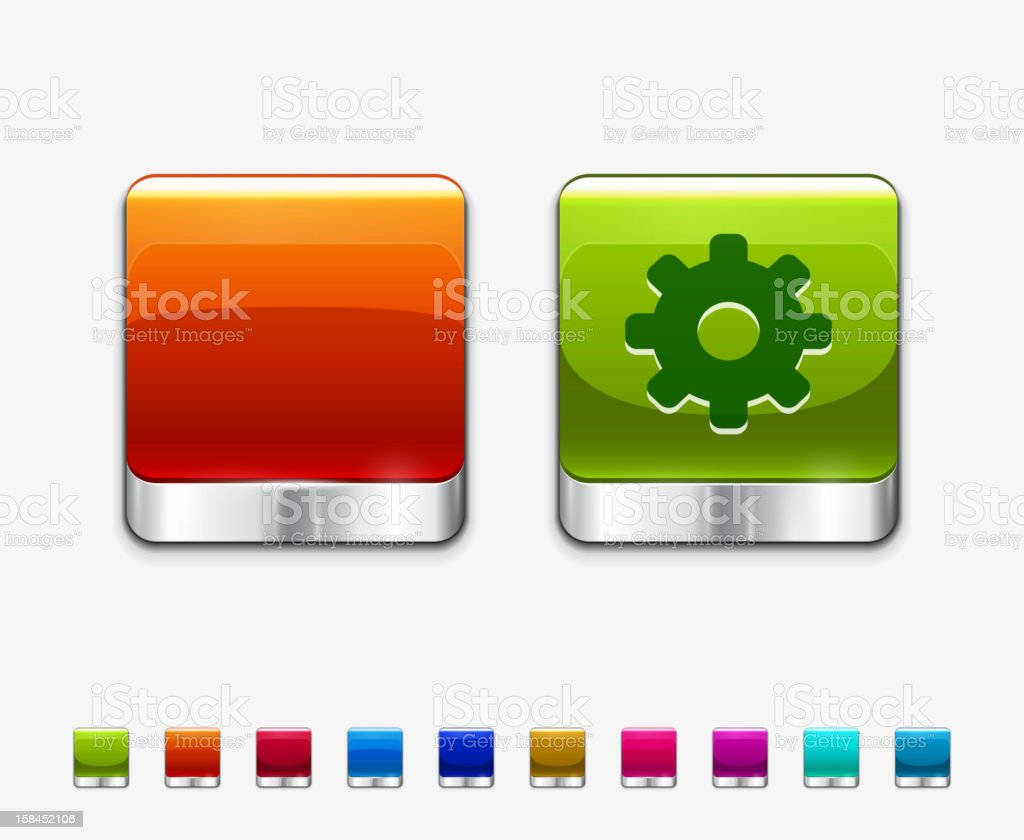 Vector application icon royalty-free stock vector art