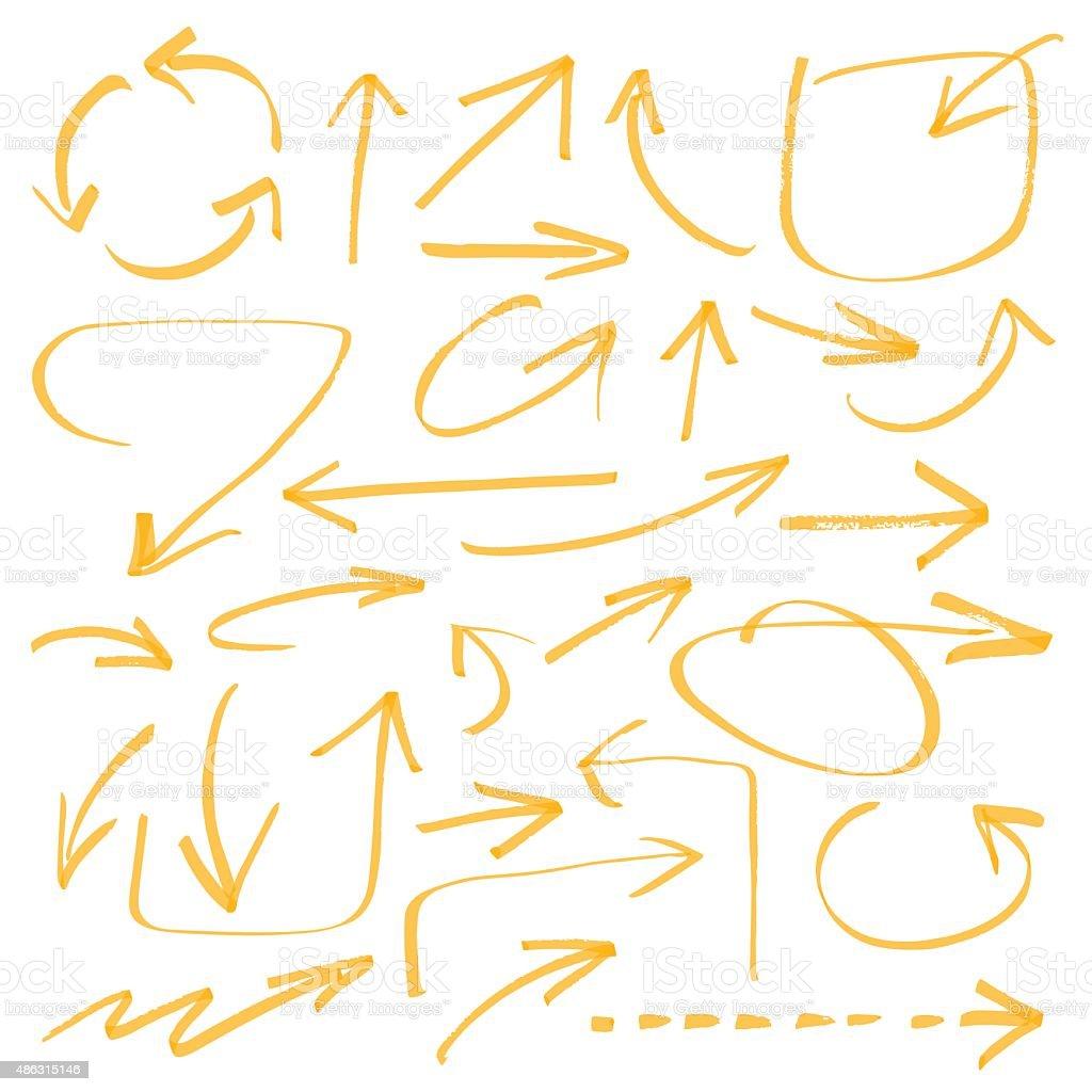 vector arrows vector art illustration