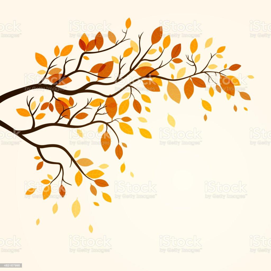 Vector Autumn Design vector art illustration