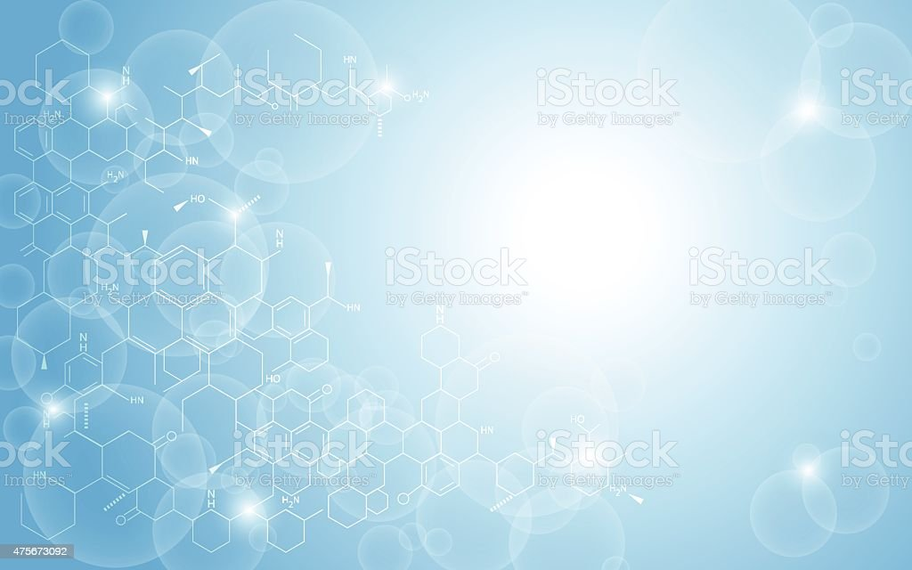 vector background abstract structure science concept vector art illustration