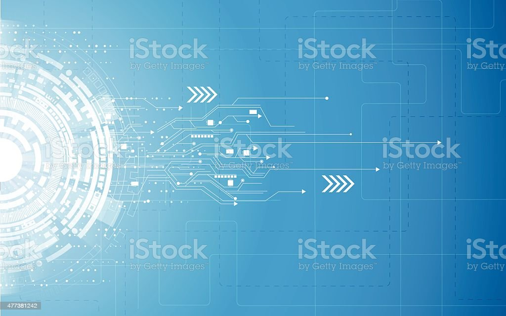 vector background abstract technology communication concept vector art illustration
